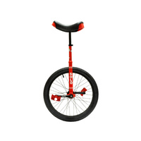 "DRS Unicycle Bike - Solo Ex - 16"" - Red"