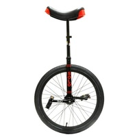 "DRS Unicycle Bike - Solo Ex - 24"" - Black"