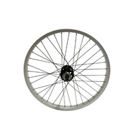 "DRS Bike Wheel - Solo Pro-Unicycle - 24"" - Black/Silver"