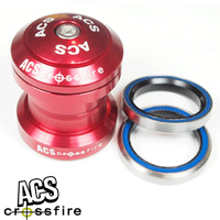 "ACS BMX Components Headset - Crossfire Headset - 1"" - Red"
