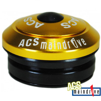 "ACS BMX Components Headset - Maindrive Intergrated Headset - 1 1/8"" - Gold"