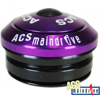 "ACS BMX Components Headset - Maindrive Intergrated Headset - 1 1/8"" - Purple"