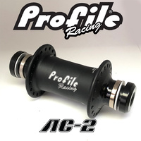 PROFILE Racing AC-2 Front Hub - 36H - 20mm Axle - Matte Black