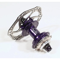 "PROFILE Racing Elite Rear Disc Hub - 36H - 3/8"" Axle - Purple"
