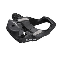 Shimano SPD-SL Bike/Cycling Road Pedals - PD-RS500 - Stainless Steel - Black