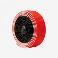 Fabric Hex Duo High Grip Road Bike Bar Tape - Black/Red
