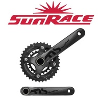 Sunrace Chainwheel & Crank 175mm 36/22T