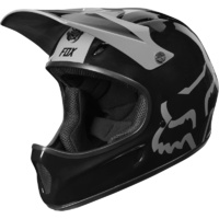 Fox Downhill MTB Helmet - 2019 Rampage DH Helmet - Black - Large