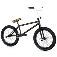 "Fit Bike Co BMX Bike - 2021 20"" STR Large - 20.75TT - Trans Gloss Black"