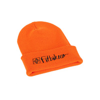 Fitbikeco BMX Beanie - Hazard - Neon Orange