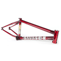 Fitbikeco BMX Frame - Savage - Nordstrom - 21.0TT - Trans Red