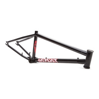 Fitbikeco BMX Frame - Hartbreaker - Harti - Matt Black - Various Sizes
