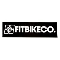 Fitbikeco BMX Banner - 900 x 250mm - Black