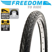 "Freedom Bike Tyre - Mako Shark Wirebead Tyre - 27.5"" x 1.50"""