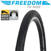 Freedom Road Bike Tyre - Roadrunner Armour Protection - 29 x 1.9""