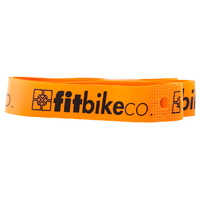 "Fit Bike Co BMX FIT Rim Strips - 20"" - Nylon - Orange"