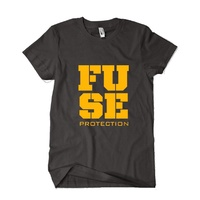 Fuse BMX T-Shirt - Impact - Black - Various Sizes