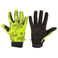 Fuse BMX Gloves - Chroma Alias Gloves - Neon Yellow - L