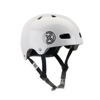 Fuse BMX Helmet - Delta Scope - 54-60mm - Inmould - Gloss White