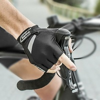 GripGrab Cycling/Bike Gloves - SuperGel Gloves - Black - Various Sizes