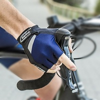 GripGrab Cycling/Bike Gloves - SuperGel Gloves - Navy - Various Sizes