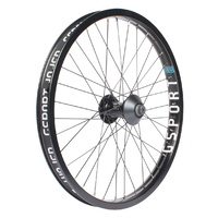 Gsport BMX Front Wheel - Elite - Front - Roloway/Ribcage - Black