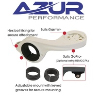 Azur - Out Front Handlebar Bike Mount - White