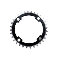 Hi Tech BMX Chainring - Alloy - 104BCD - 4H - Black - Various Sizes