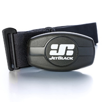 JetBlack Heart Rate Monitor - Dual Band Tech - Bluetooth / ANT+ - Soft Strap