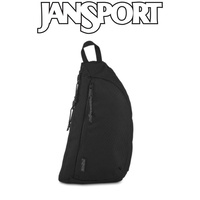 Jansport City Sling Shoulder Bag - Black Woven Bag
