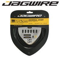 Jagwire Bike/Cycling Brake Cable Kit - Universal Sport - MTB/Road