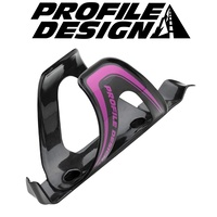 Profile Design Axis Karbon Kage Black / Pink Logo