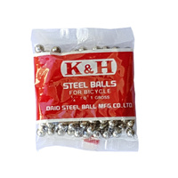 K & H BMX Ball Bearings - Japanese - 1/4 - Gross Pack