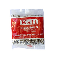 K & H BMX Ball Bearings - Japanese - 5/32 - Gross Pack