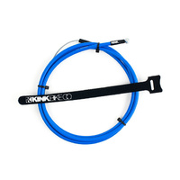 Kink BMX Brake Cable - Linear Cable - Blue