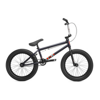 "Kink Kicker 18"" Complete BMX Bike - Gloss Midnight Blue 2019 Bike 18.0"" TT"