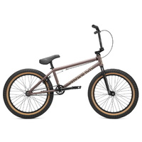 Kink BMX Bike - 2021 Kink Launch - 20.25TT - Matte Truffle Brown