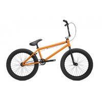"Kink Launch 20"" Complete BMX Bike Matte Cali Poppy Edge Fade 2019 Bike 20.25 TT"