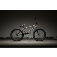 "Kink Launch 20"" Complete BMX Bike - Gloss Raw Gold 2019 Bike 20.25"" TT"