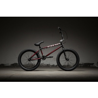 "Kink Gap 20.5"" TT Complete BMX Bike Gloss Trans Black Cherry Fiction Fade 2019"