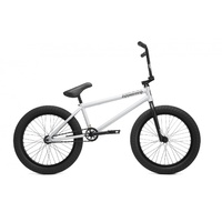 "Kink Downside Complete BMX Bike - Matte Electric Silver 20.75"" TT Bike - 2019"