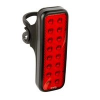 Knog Blinder MOB V Kid Grid Rear Bike Light - Black Rechargeable Rear Light