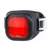 Knog Blinder Mini Chippy Rear Bike Light - Black Rechargeable Rear Light