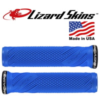 Lizard Skins Lock-on Macaskill MTB Mountain Bike Grips - Electric Blue