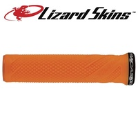 Lizard Skins Lock-on Macaskill MTB Mountain Bike Grips - Tangerine