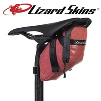 Lizard Skins Bike Saddle Bag/Super Cache Saddle Bag - Crimson