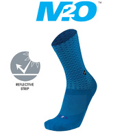 M2O Bike/Cycling Socks - Diamond - Crew Plus Socks - Blue - Various Sizes