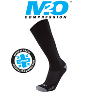 M2O Bike/Cycling Socks - Recovery Socks - Black/Grey - Various Sizes