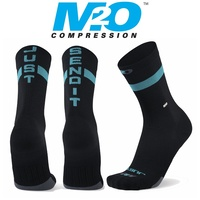 M2O Bike / Cycling Sock - Endurance Just Send It Sock - Black / Blue