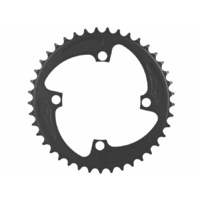 MCS BMX Chainring - 104BCD - 4H - USA Made - Black - Various Sizes